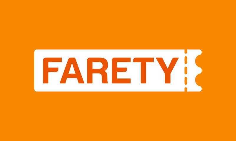Farety - Ticketing brand name for sale