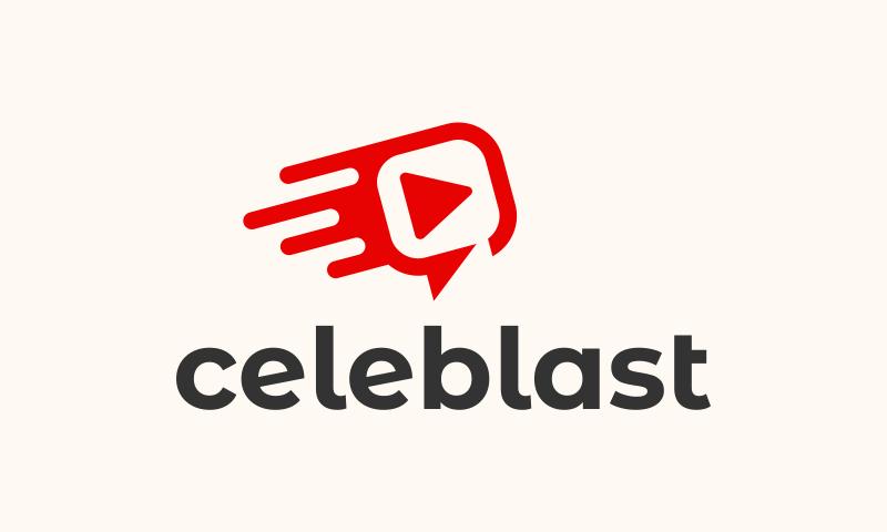Celeblast - Social business name for sale
