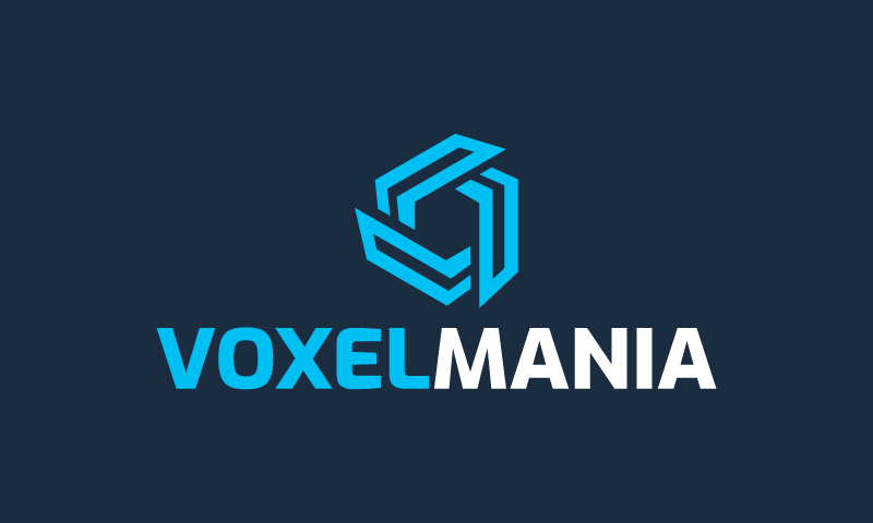 Voxelmania - Technology business name for sale