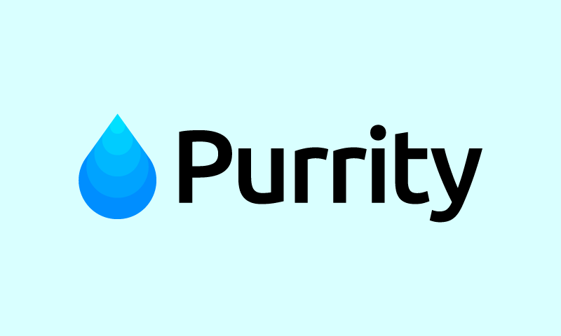 Purrity - Contemporary domain name for sale