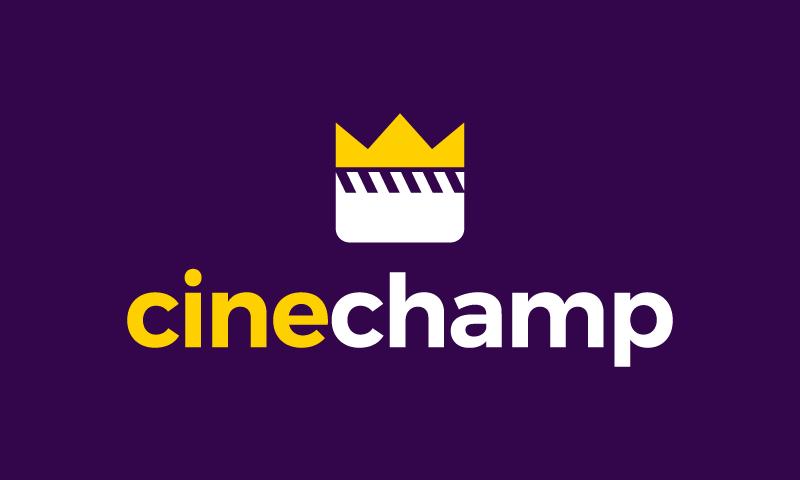 Cinechamp - Video company name for sale