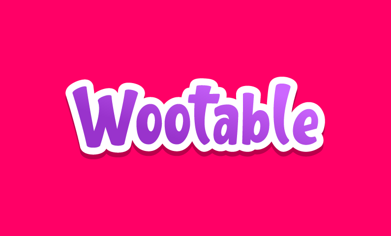 Wootable - E-commerce startup name for sale