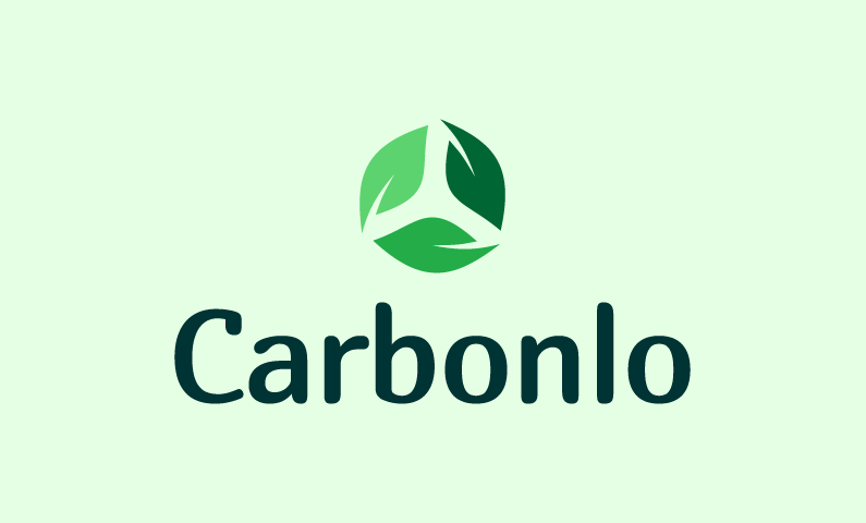 Carbonlo - Green industry startup name for sale