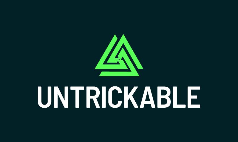 Untrickable logo