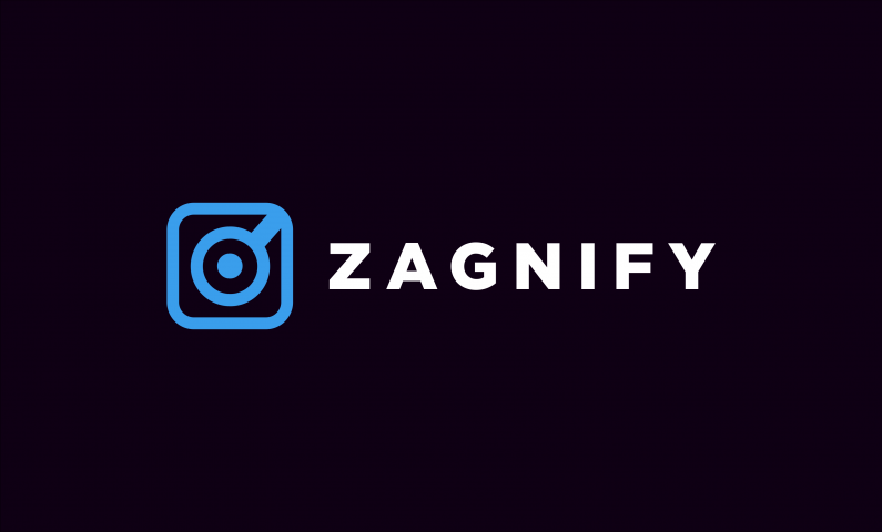 Zagnify - Brandable startup name for sale