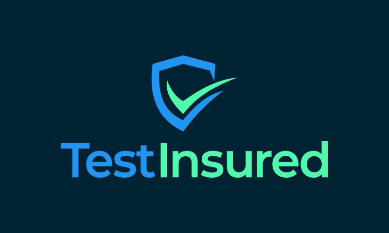 Testinsured - Insurance business name for sale