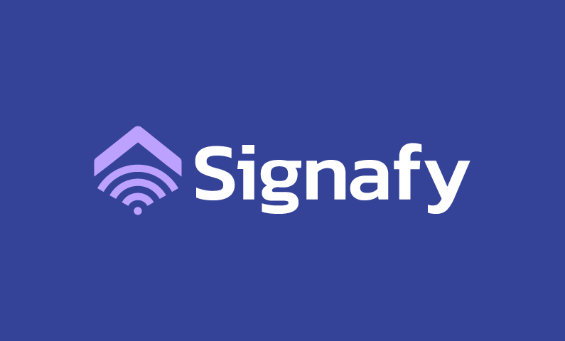 Signafy - Technology startup name for sale