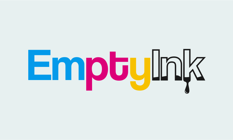 Emptyink - Office supplies business name for sale
