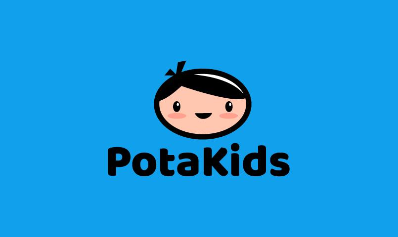 Potakids - Childcare brand name for sale