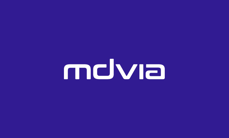 mdvia logo - Smart 5-letter domain name