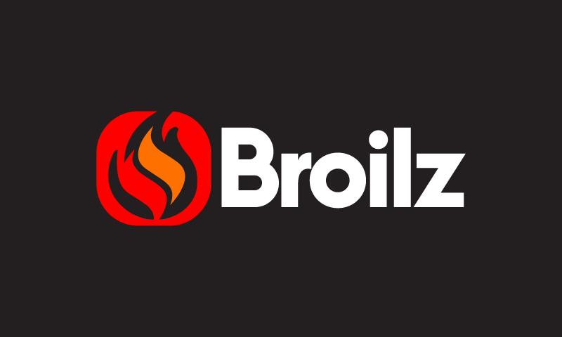 Broilz - E-commerce startup name for sale