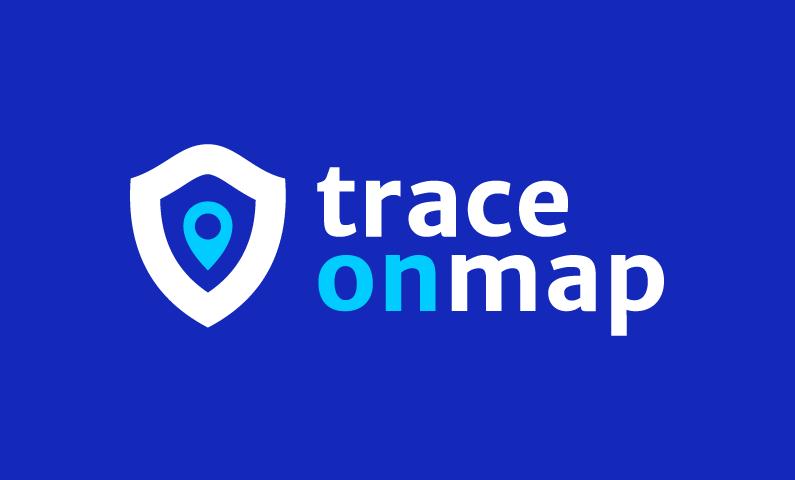 traceonmap logo