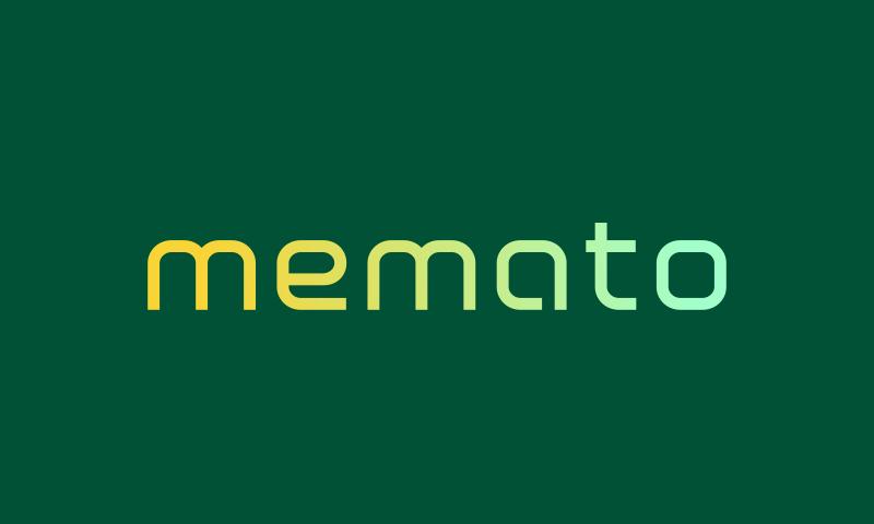 Memato - Business company name for sale