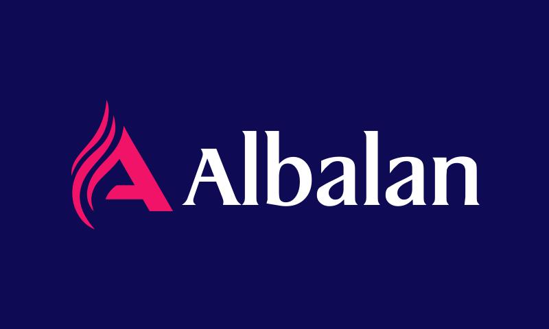 Albalan - E-commerce brand name for sale