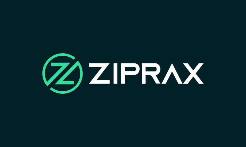 Ziprax - Technology company name for sale