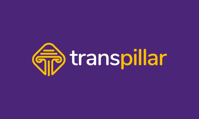 Transpillar - Transport startup name for sale
