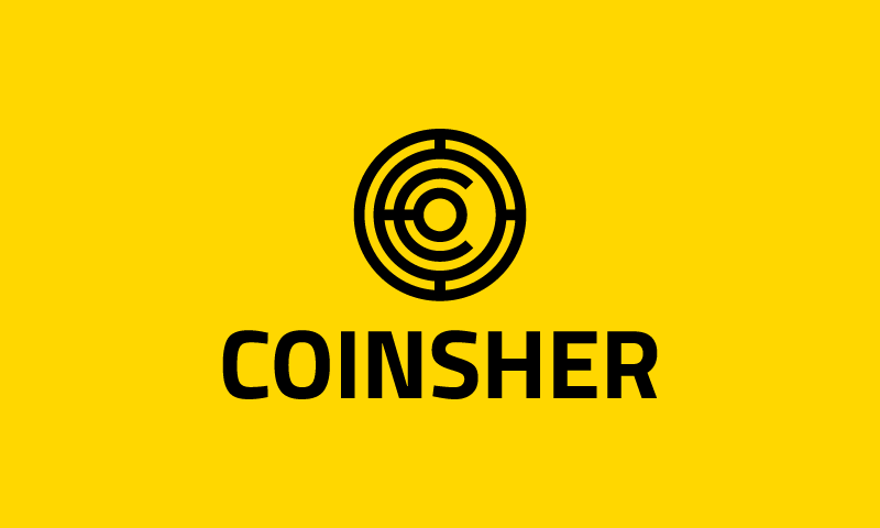 Coinsher - Finance business name for sale