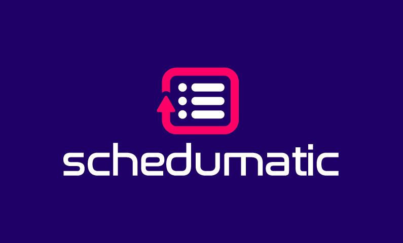 Schedumatic - Modern brand name for sale