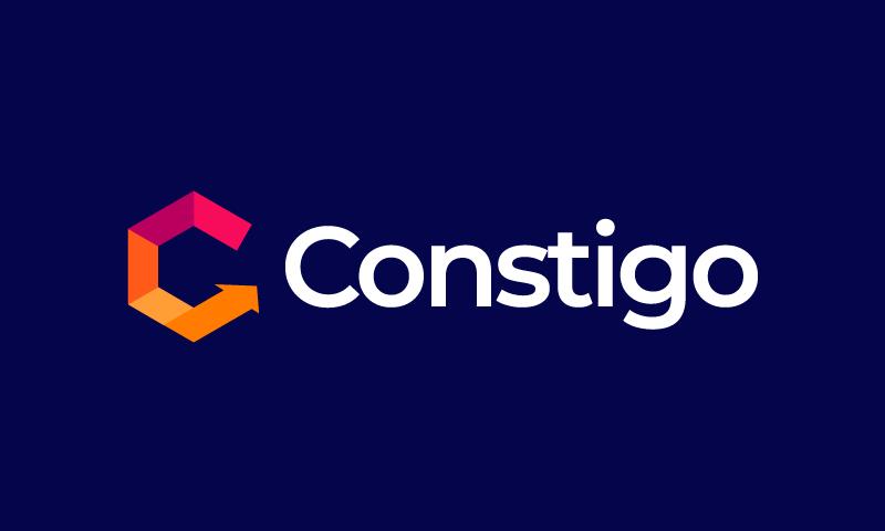 Constigo - Technology startup name for sale