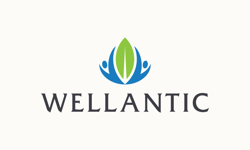 Wellantic - Wellness business name for sale