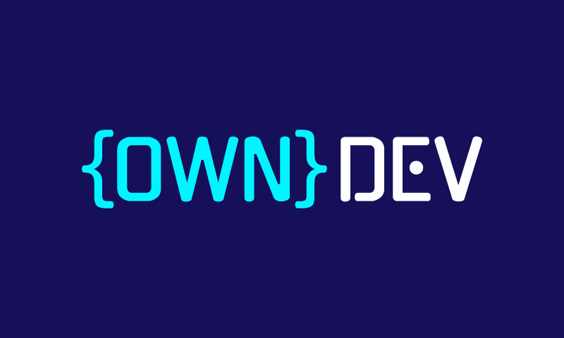 Owndev - Software business name for sale