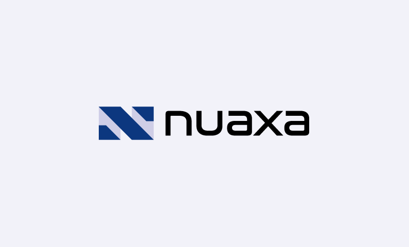 nuaxa logo - Abstract domain name