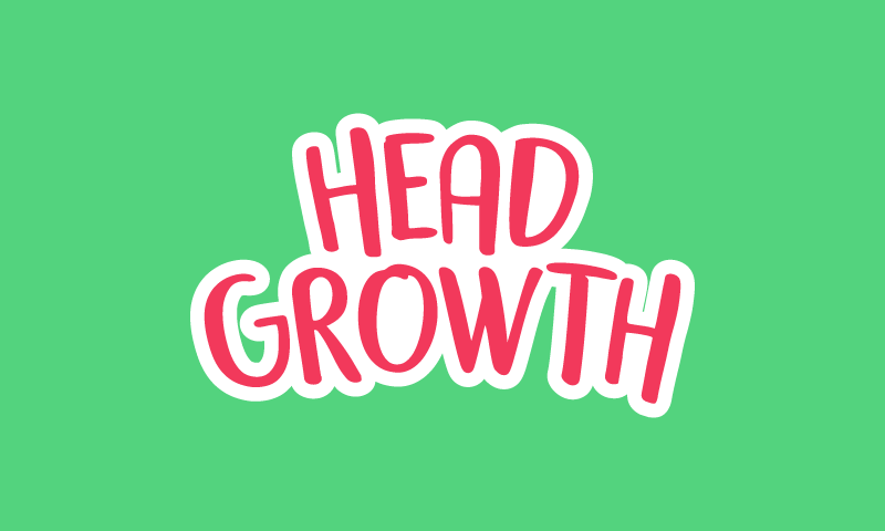 Headgrowth - Online games startup name for sale