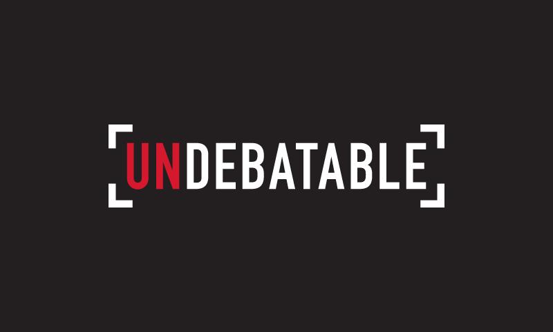 Undebatable