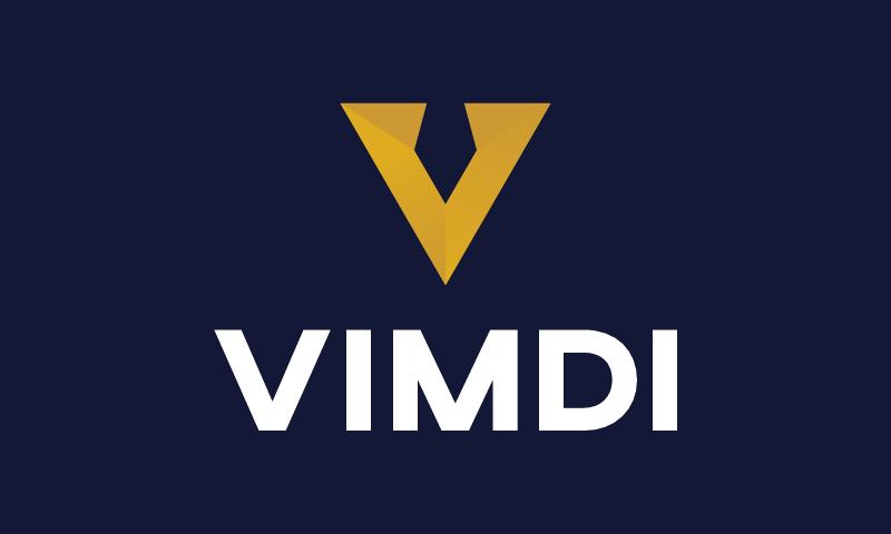 Vimdi - Technology brand name for sale