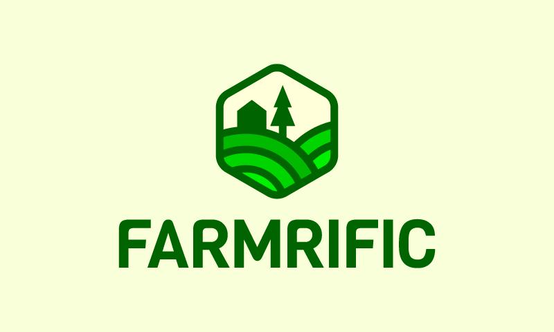 Farmrific - Agriculture company name for sale