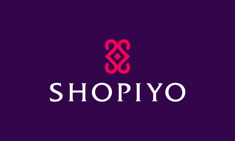 Shopiyo - Retail domain name for sale