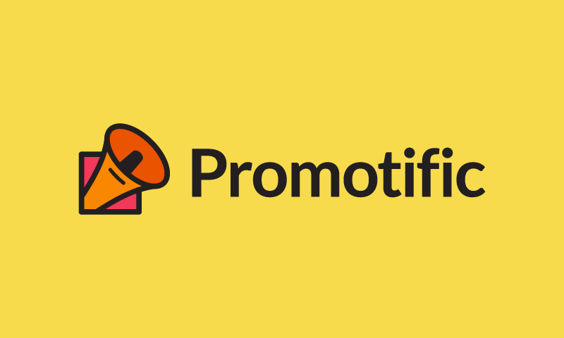 Promotific - Technology startup name for sale