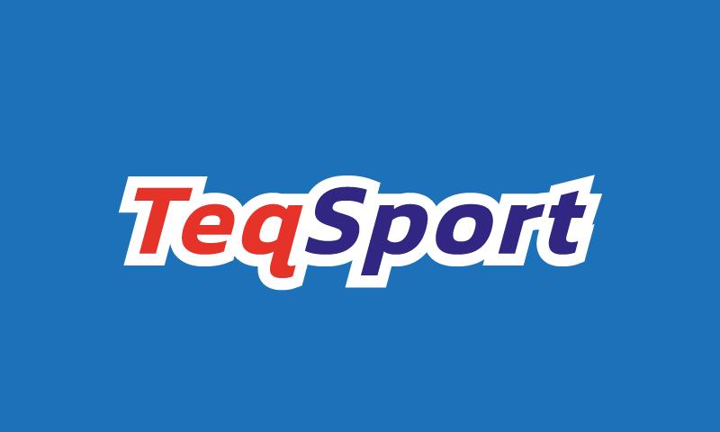 Teqsport - Sports brand name for sale