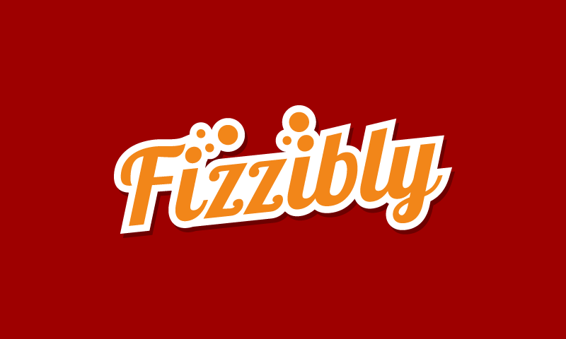 Fizzibly - Dining startup name for sale