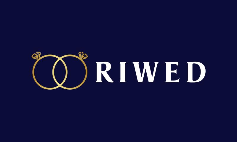 Riwed - Weddings company name for sale