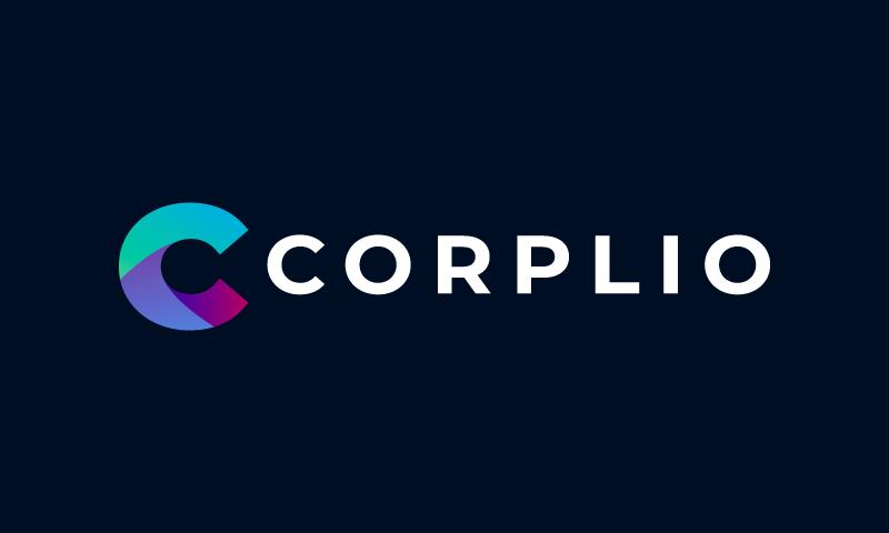 Corplio - Business startup name for sale