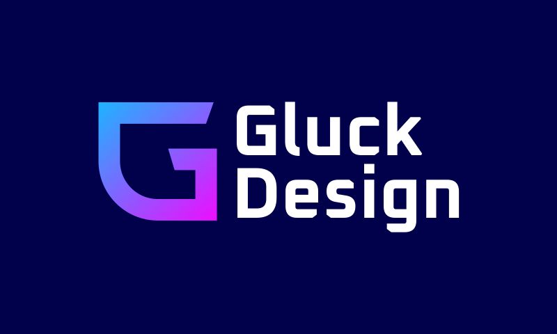 Gluckdesign - Design startup name for sale