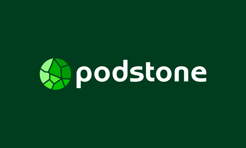 Podstone - Retail startup name for sale