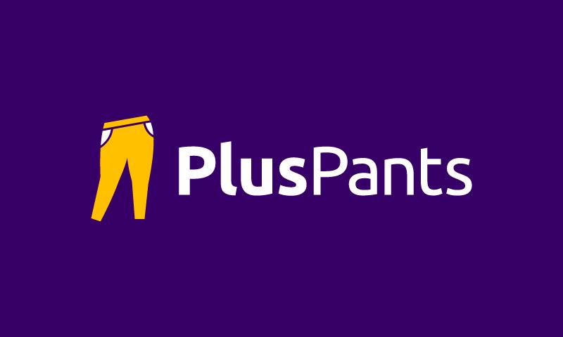 Pluspants - Beauty domain name for sale