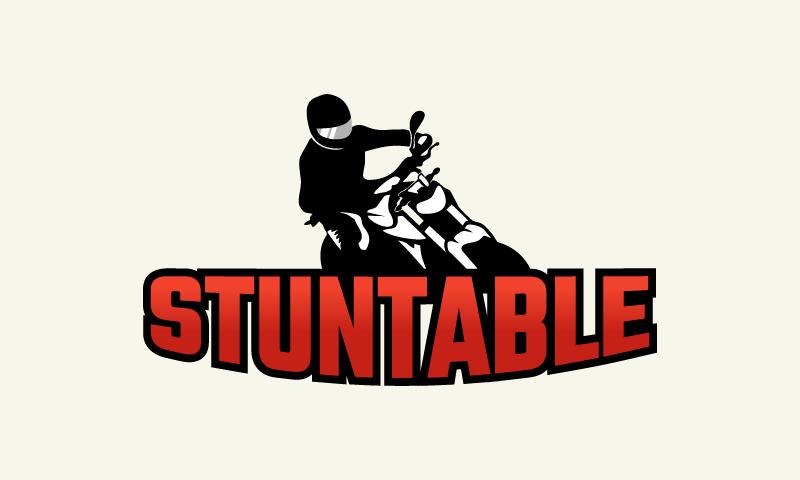 Stuntable - E-commerce startup name for sale