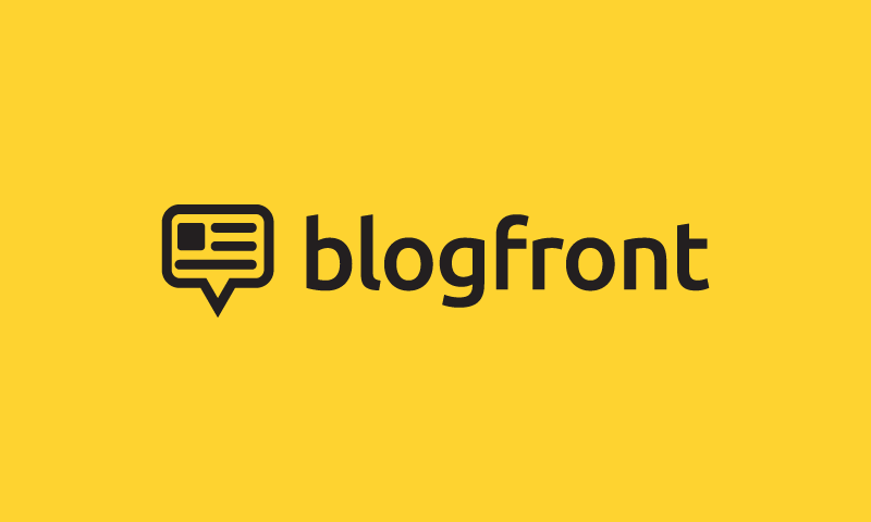 Blogfront - Writing domain name for sale