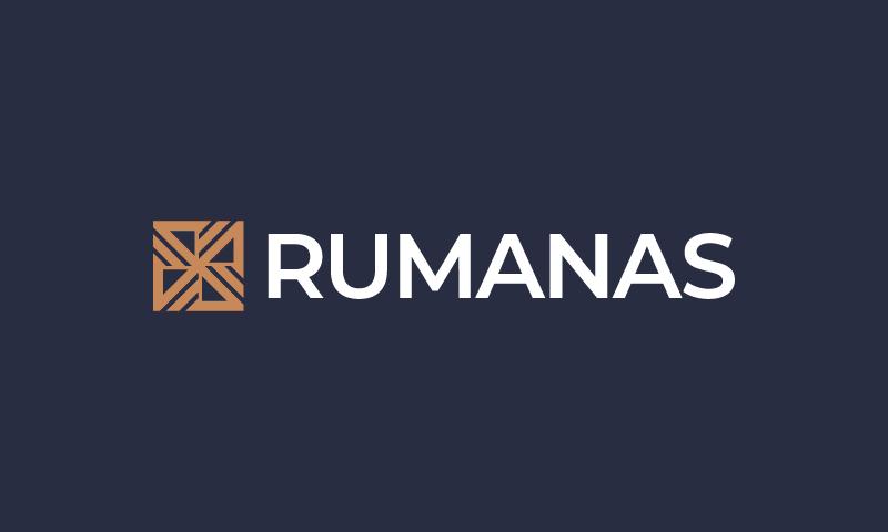 Rumanas - Business company name for sale