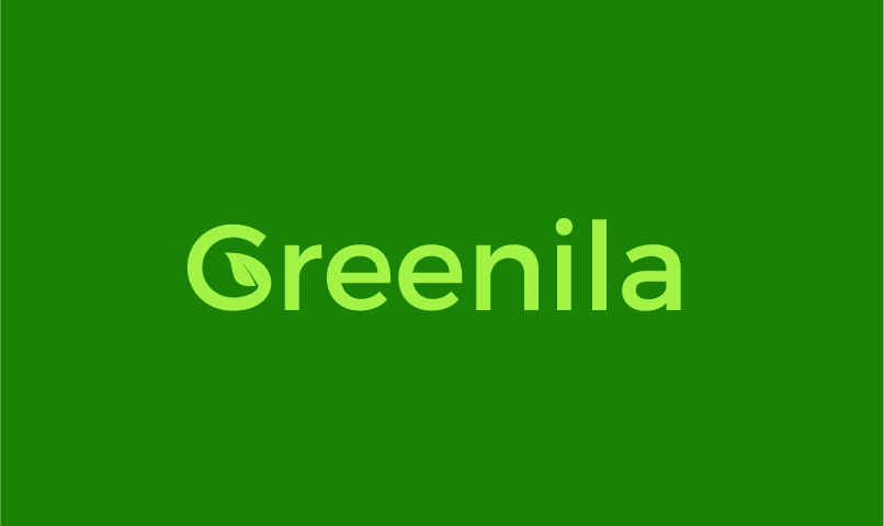 Greenila - Green industry business name for sale