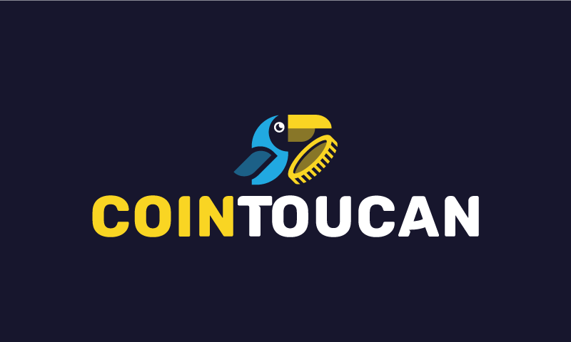 Cointoucan - Cryptocurrency startup name for sale