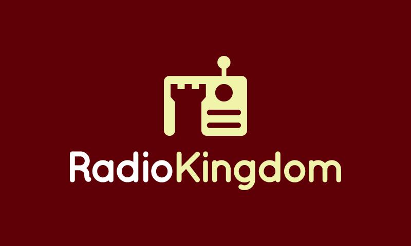 Radiokingdom - Entertainment brand name for sale