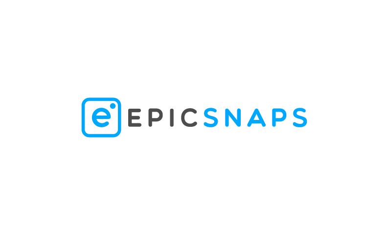 EpicSnaps logo - Heroic brand name for photo shooters