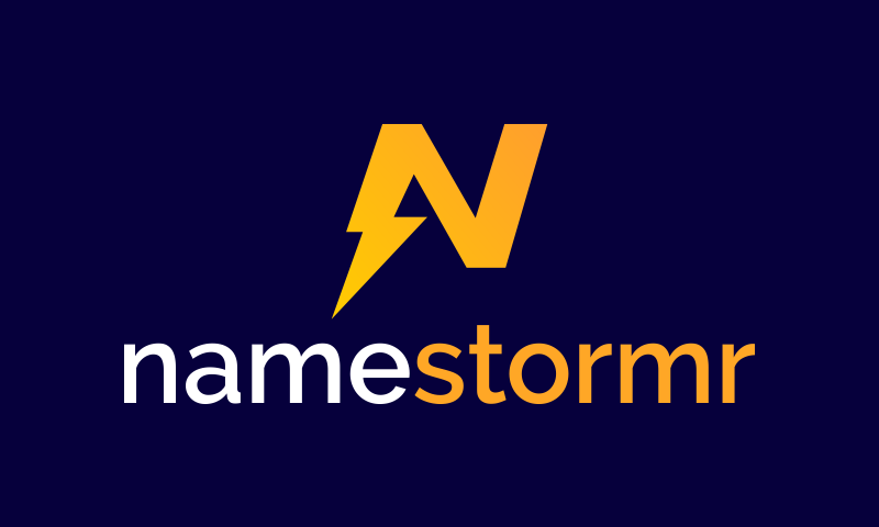 Namestormr - Technology company name for sale