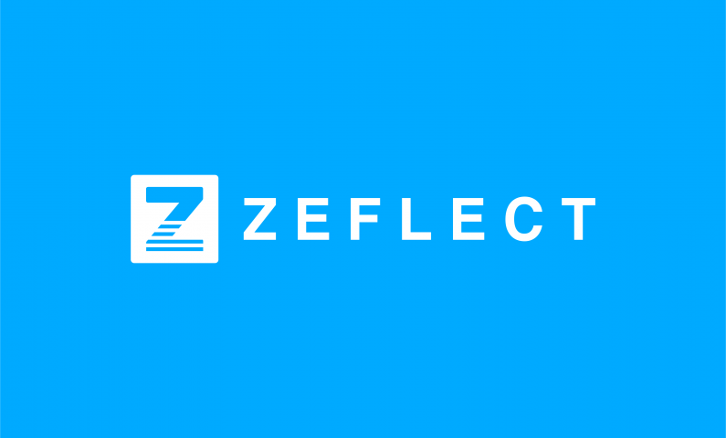 Zeflect - Healthcare startup name for sale