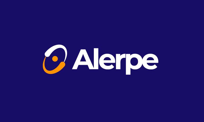Alerpe - Marketing company name for sale