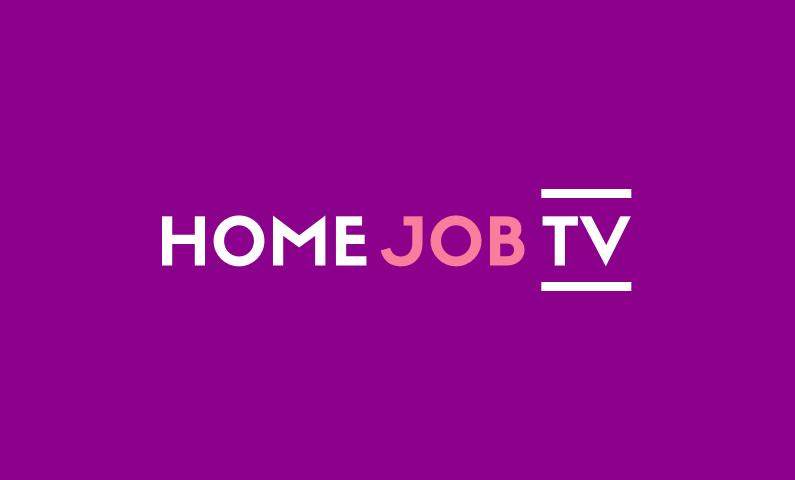 Homejobtv - Internet startup name for sale